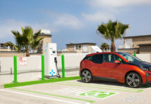 Delta Electronics electric car charging station
