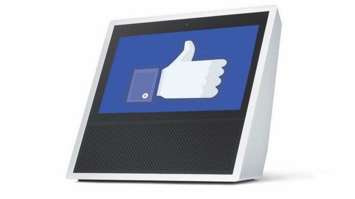 Facebook смарт-дисплей