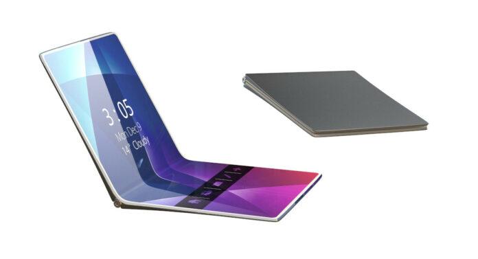Huawei складной смартфон