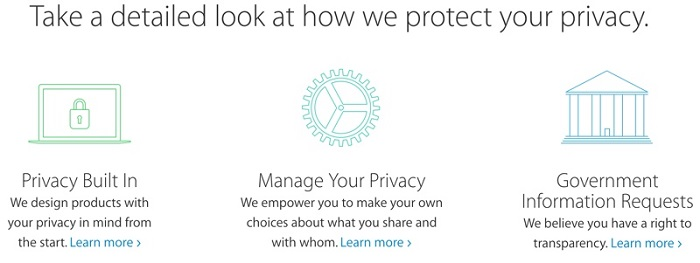 iTunes Store and Privacy