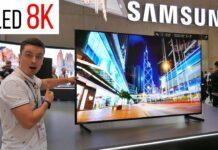 8K QLED-TV Samsung