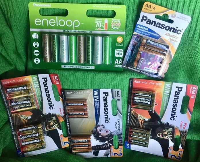 Осенний конкурс Panasonic - выигрывай аккумуляторы eneloop и батарейки!