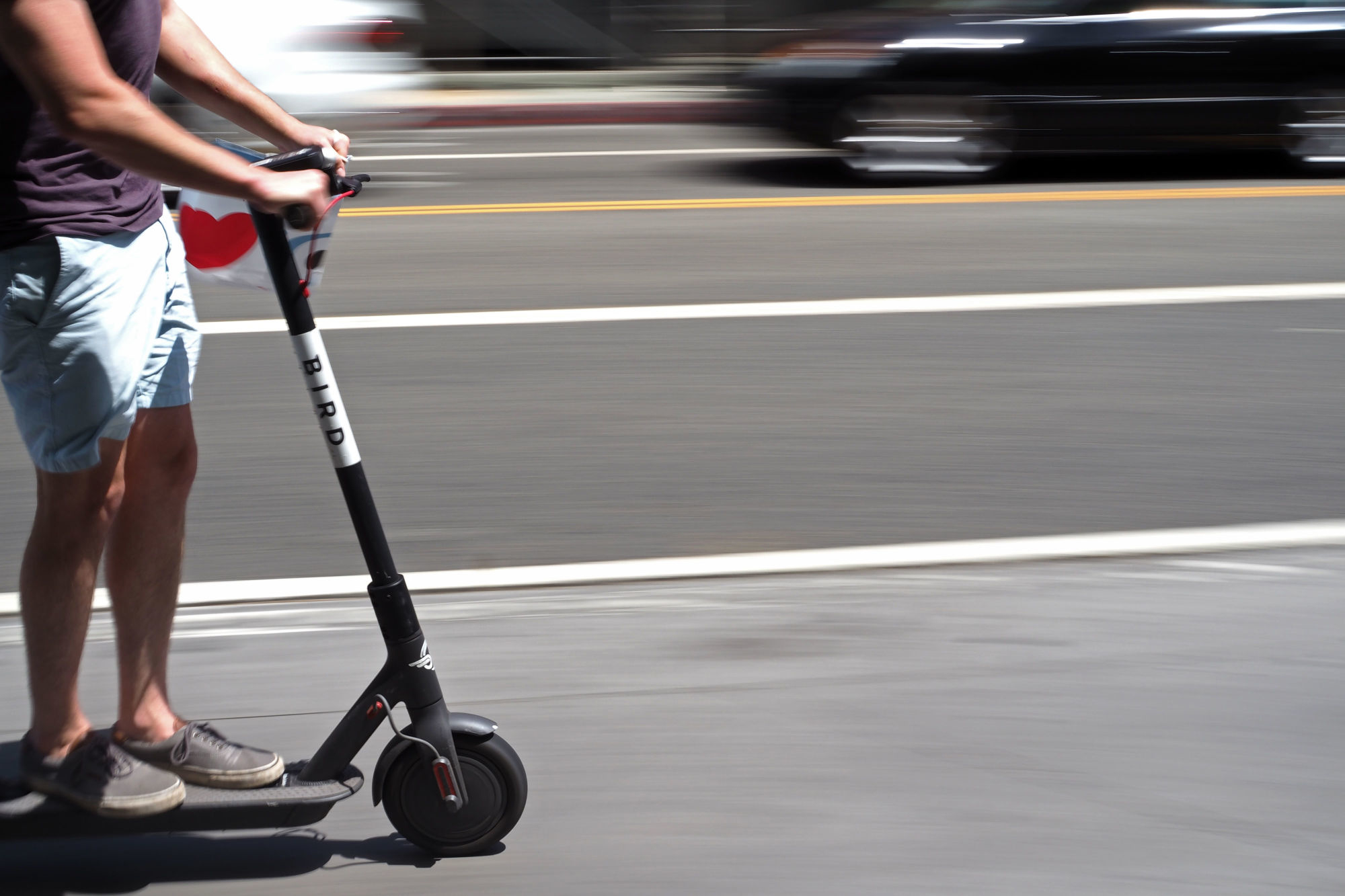 Uber Jump electric scooter електросамокат