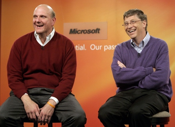 Стив Балмер и Билл Гейтс