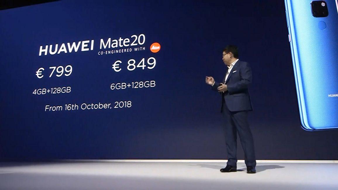 Huawei Mate 20 Mate 20 Pro Presentation
