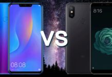 Huawei P smart+ vs Xiaomi Mi A2