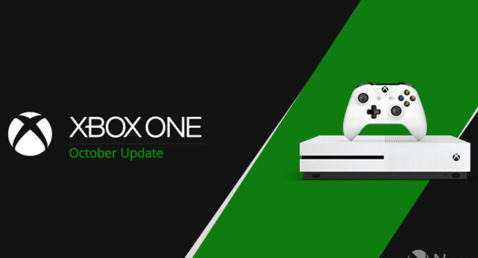 October update xbox one