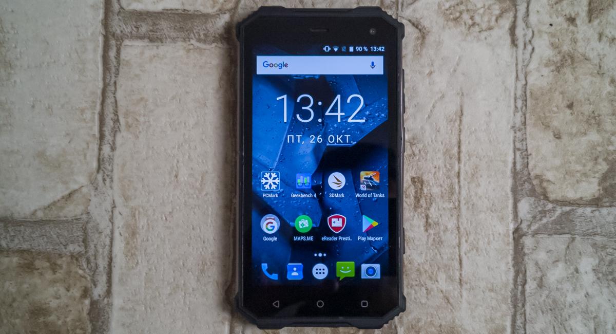 Обзор защищенного смартфона Prestigio Muze G7 LTE - Бюджетная броня