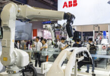 Robot factory in Shanghai