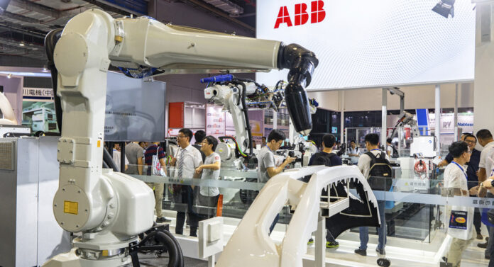 Robot factory in Shanghai