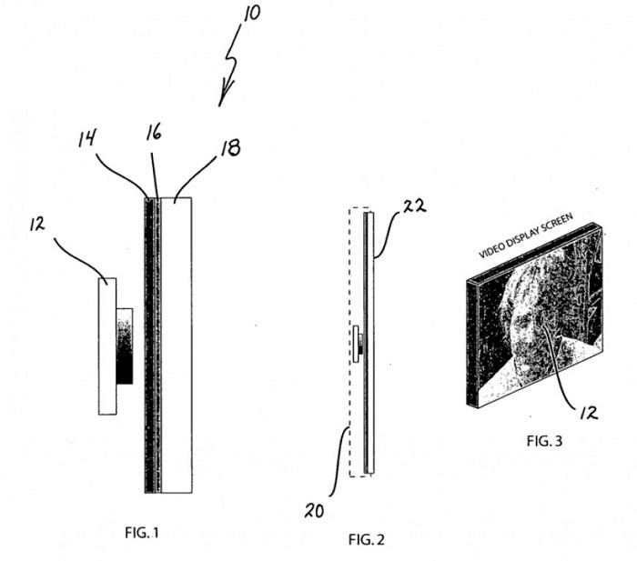 Samsung behind-the-display selfie camera