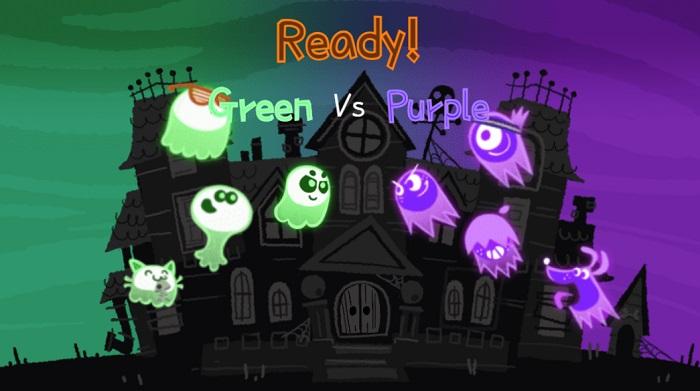 В честь хэллоуина Google разместила игру The Great Ghoul Duel на домашней странице поисковика