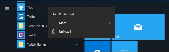 Windows 10 build 18262 (19H1)