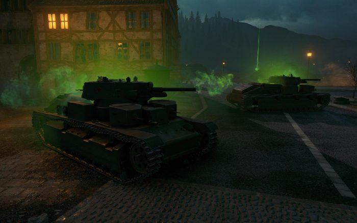 World of Tanks dark front