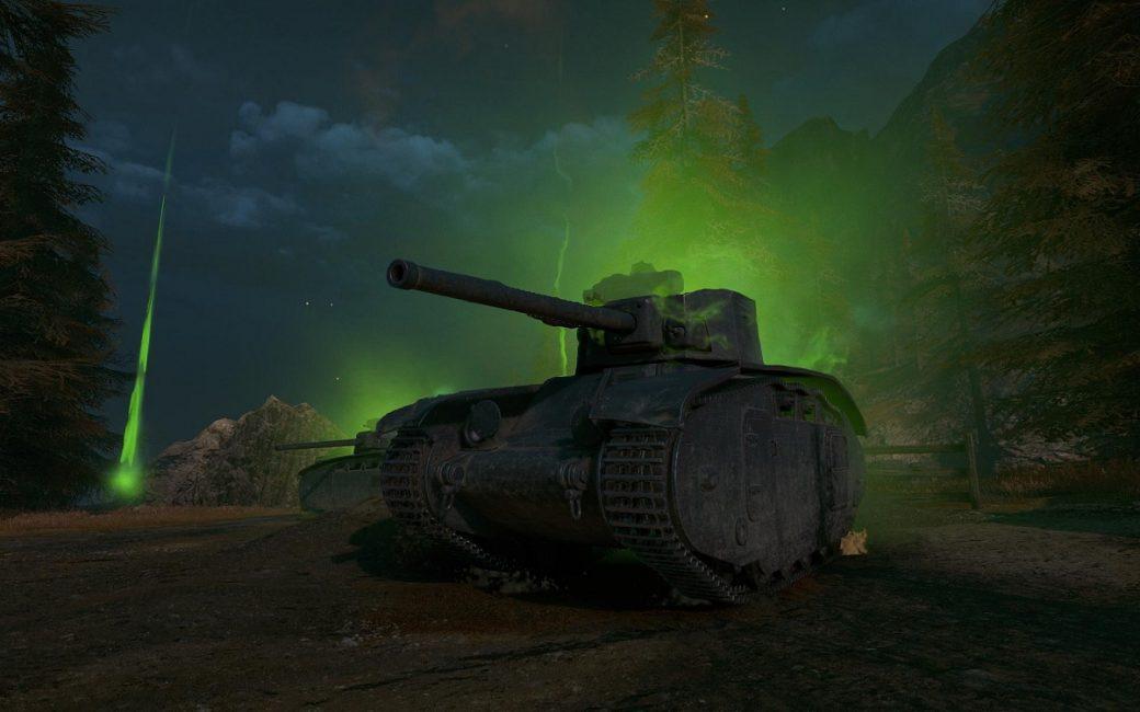 World of Tanks dark front