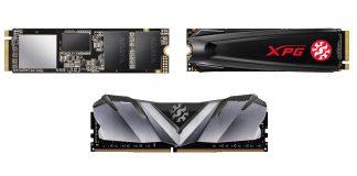 XPG SX8200 Pro, GAMMIX S5, GAMMIX D30