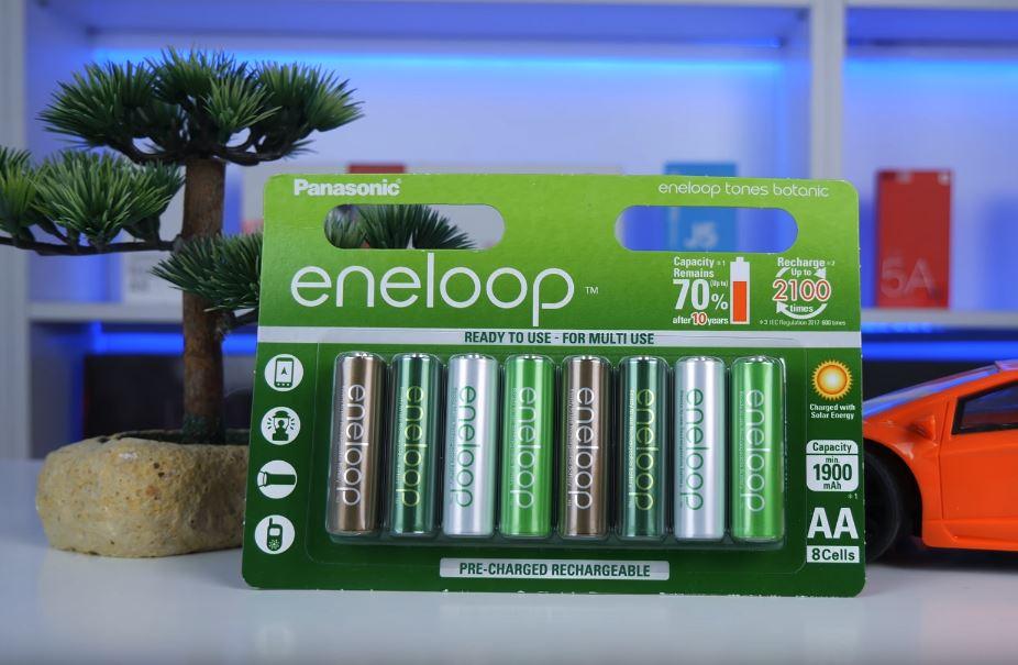 Panasonic eneloop AA 1900 mah Tones Botanic