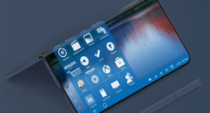 foldable Surface phone