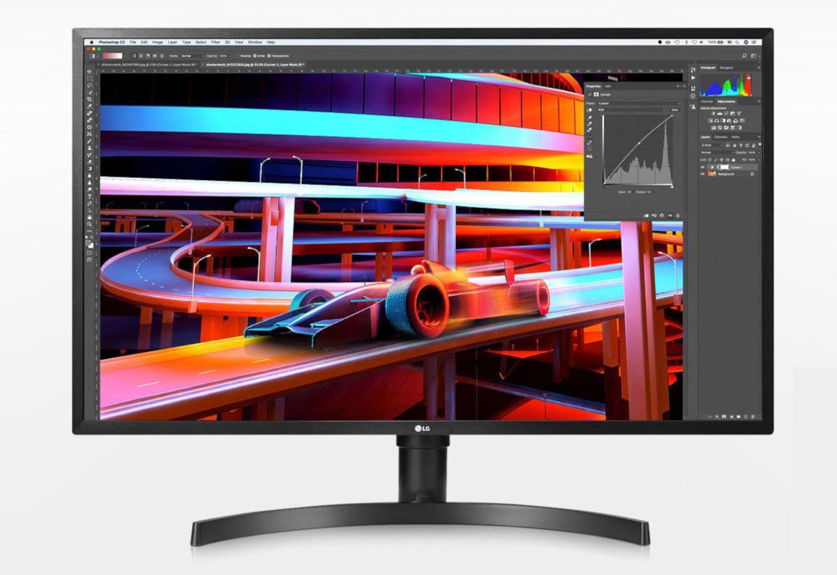 LG 4K HDR монитор 32uk550-b
