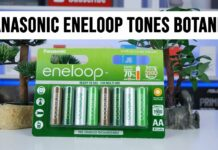 Panasonic eneloop AA 1900 mah Tones Botanic