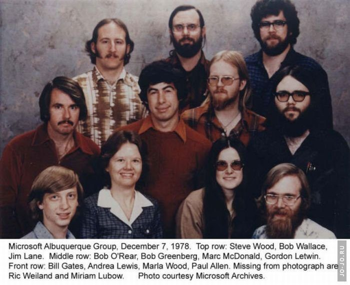 Microsoft в 1978 году
