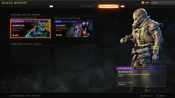 Call of Duty Black Ops 4 Microtransactions