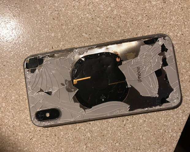 Exploding iPhone X