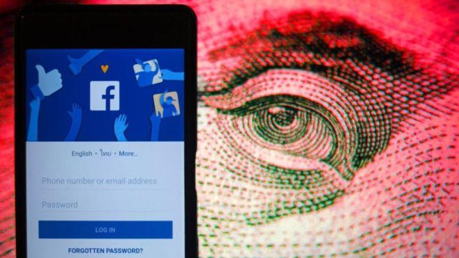 BBC Россия: порядка 81 000 приватных сообщений пользователей Facebook были украдены и выставлены на продажу