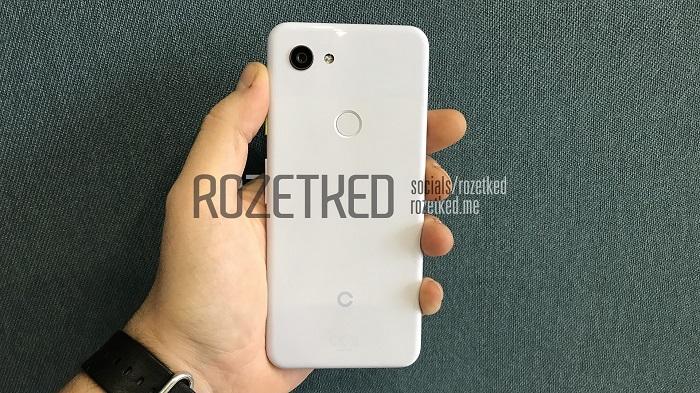 """В сеть попали """"живые"""" изображения Google Pixel 3 Lite"""