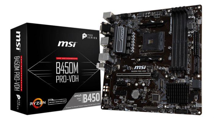 MSI B450m Pro-VDH