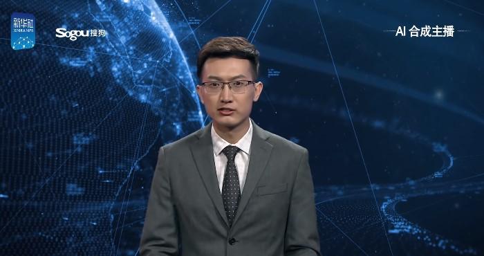 В Китае новости будет зачитывать «виртуальный телеведущий»
