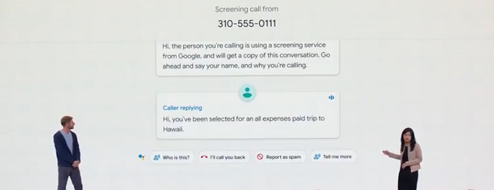 Google Call Screening