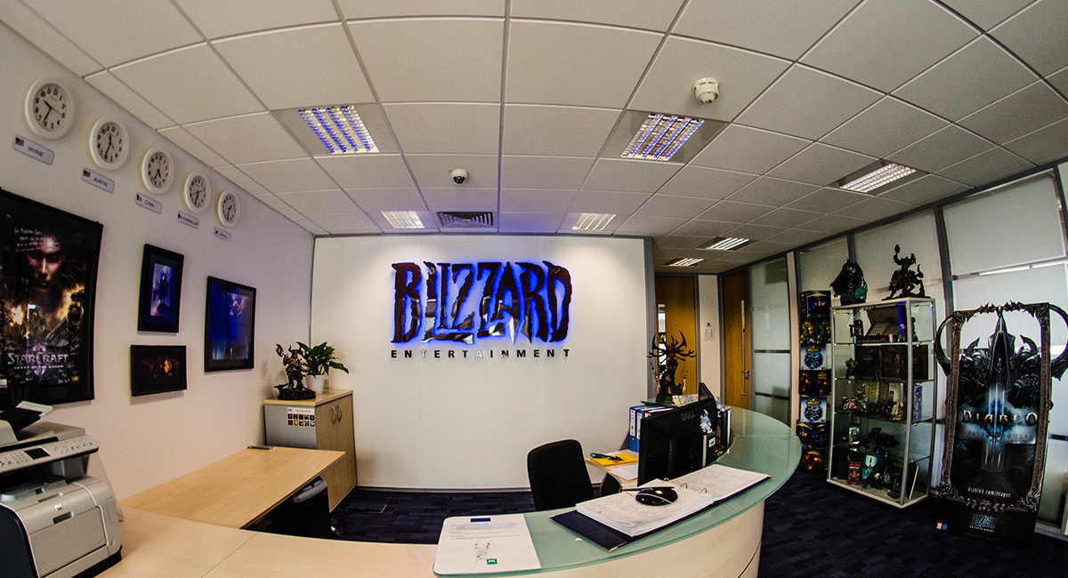 Office Blizzard Ireland