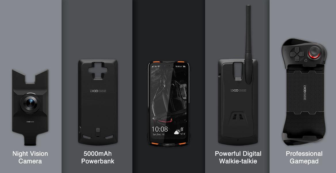 Модульный защищенный смартфон DOOGEE S90 поступил в продажу