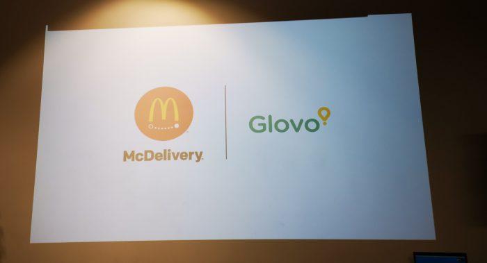 Репортаж с мероприятия Glovo и McDonalds. Свежая доставка!