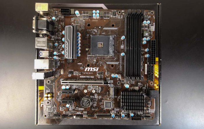MSI B350M Pro-VDH. Что нужно знать перед покупкой?
