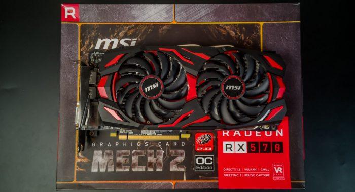 MSI RX 570 MECH 2 8GB. Что нужно знать перед покупкой?