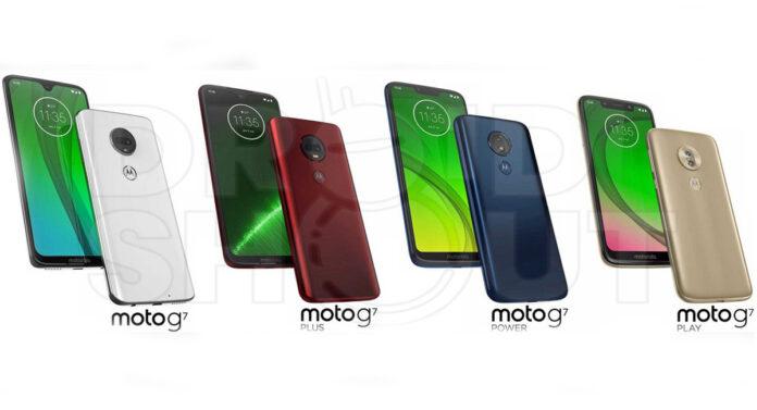Motorola Moto G7 lineup