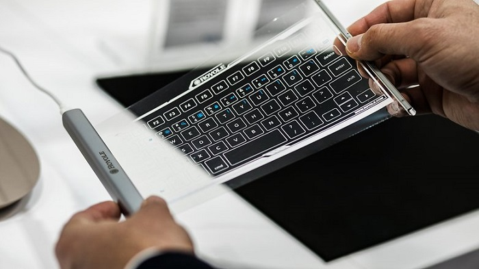 Royole flexible keyboard