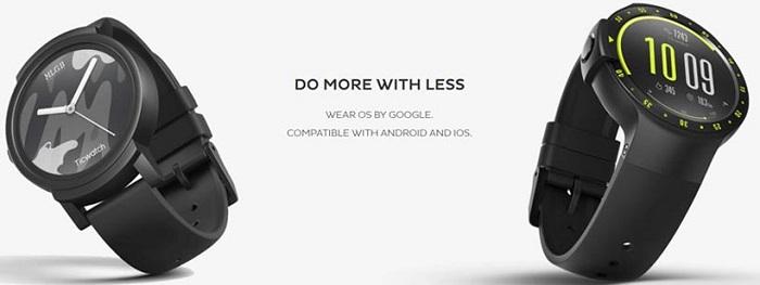 Mobvoi анонсировала Ticwatch E2 и S2 – умные часы с автоматическим отслеживанием разных видов активности