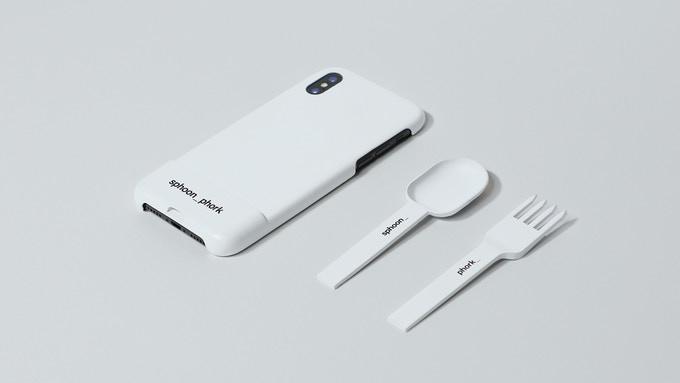 Новый чехол для iPhone позволяет использовать устройство как ложку или вилку