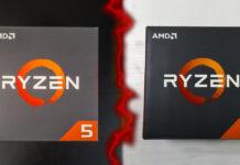 AMD Ryzen 5 1600X vs 2600X