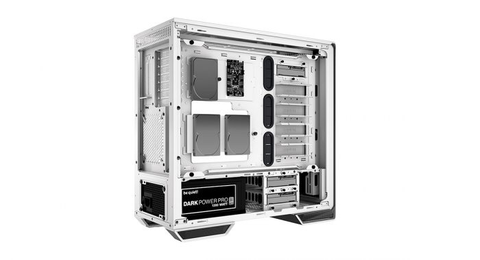Dark Base 700 White Edition: новый цвет премиум корпуса be quiet!