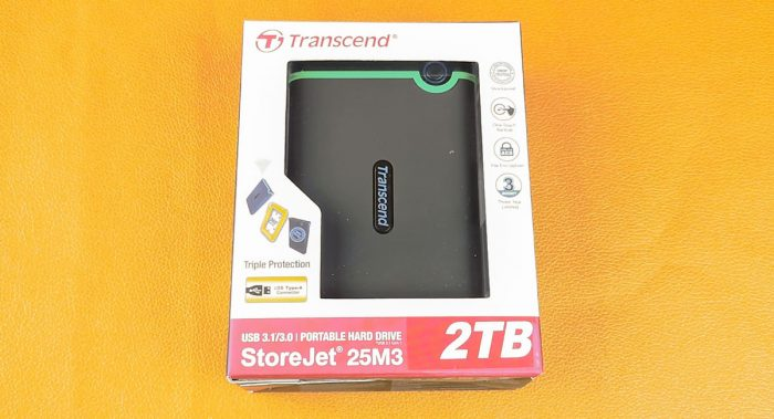 Transcend StoreJet 25M3S 2TB