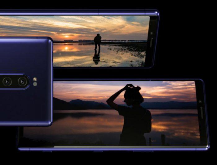 Sony представляет флагман Xperia 1 с экраном 21:9