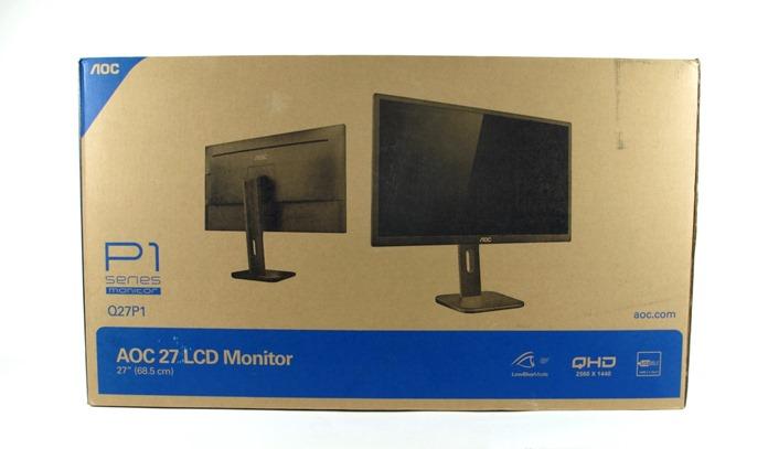 Обзор и тестирование монитора AOC Q27P1