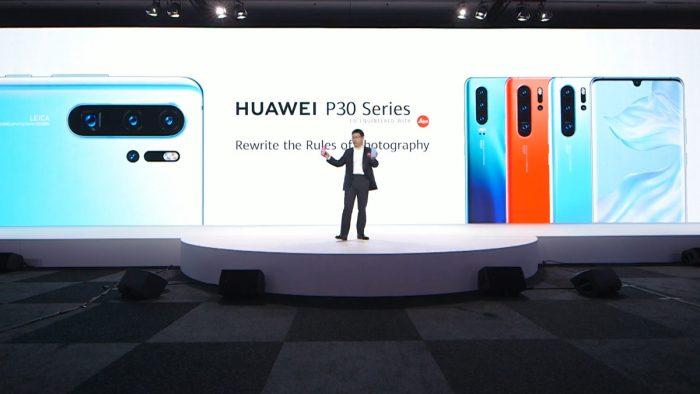 Отчёт о презентации Huawei P30, Huawei P30 Pro и не только!