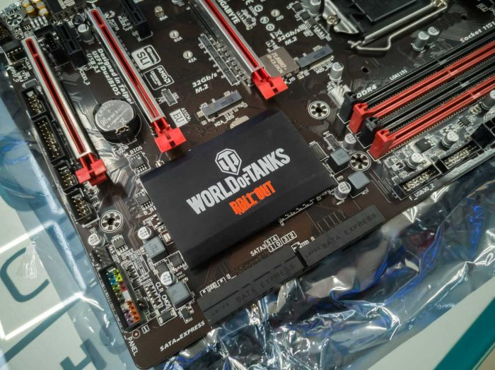 Gigabyte Z170X-Gaming 3 WoT Edition