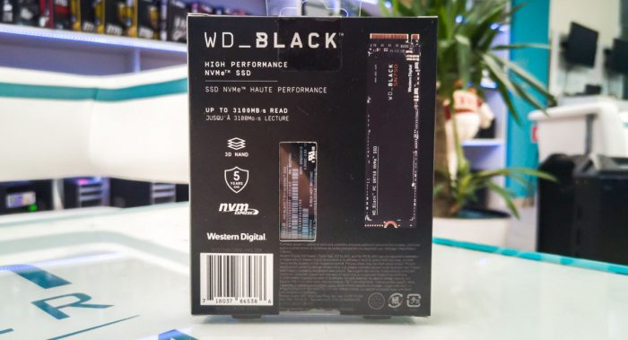 Western Digital Black 250GB SN750
