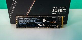 Western Digital Black 250GB SN750